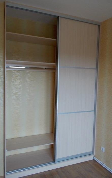 Встроенные шкафы-купе-Шкаф-купе из ЛДСП «Модель 78»-фото3