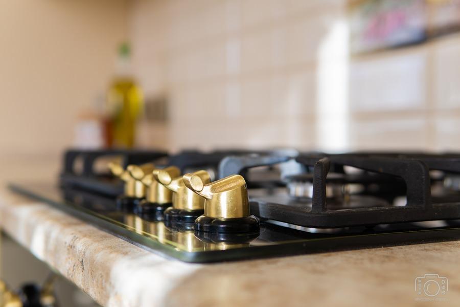 Белый кухонный гарнитур-Кухня из шпона «Модель 3»-фото11