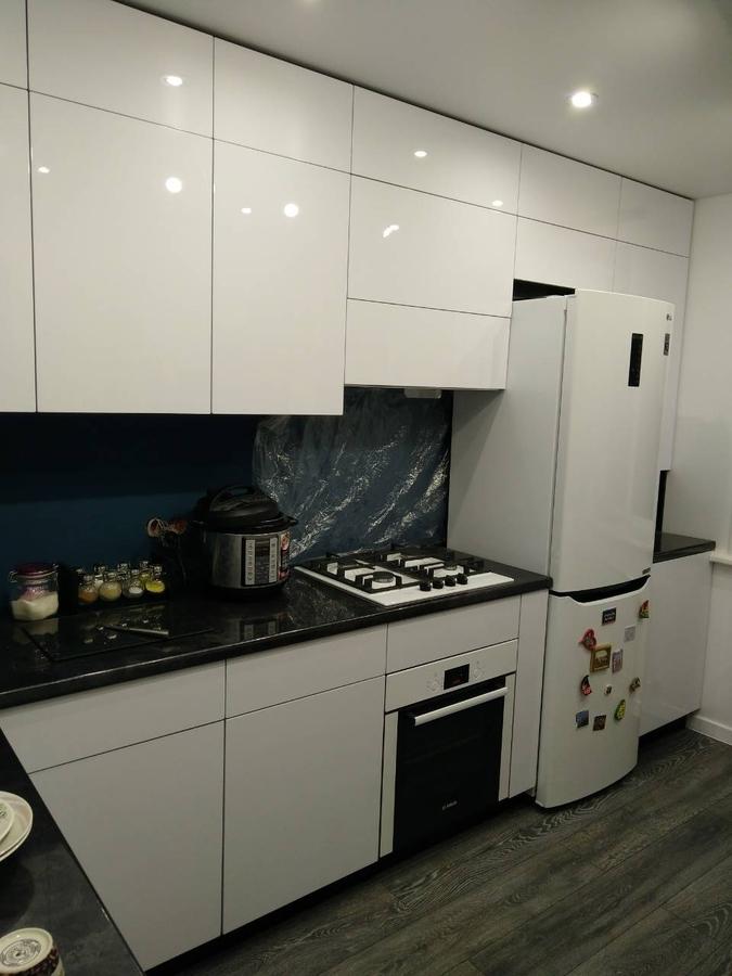 Белый кухонный гарнитур-Кухня «Модель 476»-фото1