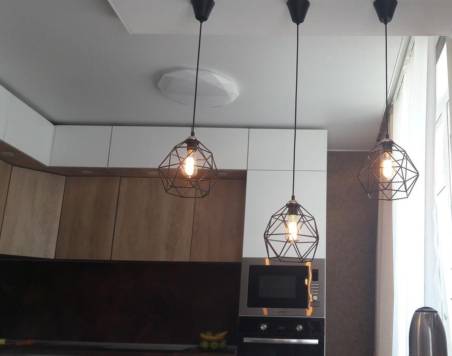 Белый кухонный гарнитур-Кухня из ЛДСП «Модель 176»-фото6