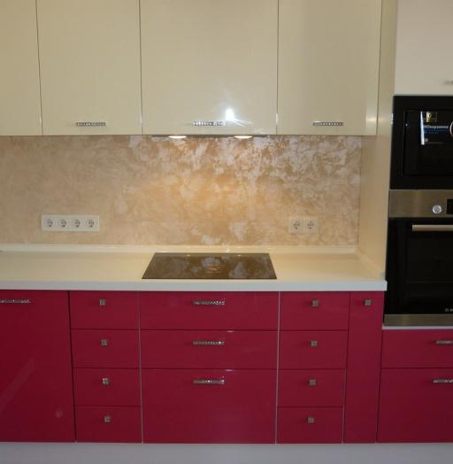 -Кухня МДФ в эмали «Модель 252»-фото13