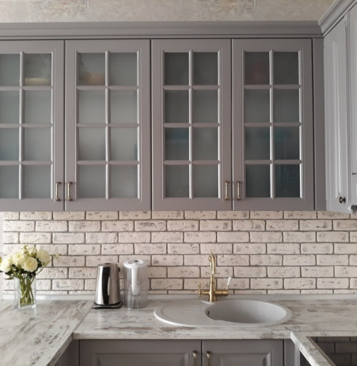 -Кухня МДФ в эмали «Модель 281»-фото8