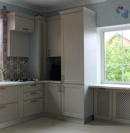 -Кухня МДФ в эмали «Модель 283»-фото16