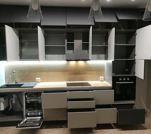 -Кухня МДФ в ПВХ «Модель 99»-фото9