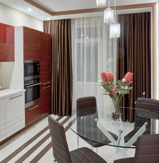 -Кухня МДФ в ПВХ «Модель 17»-фото30