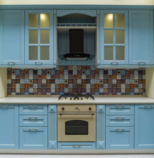 -Кухня МДФ в ПВХ «Модель 54»-фото4