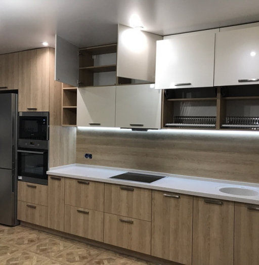 -Кухня МДФ в ПВХ «Модель 67»-фото24