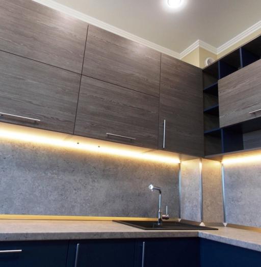 -Кухня МДФ в эмали «Модель 15»-фото15