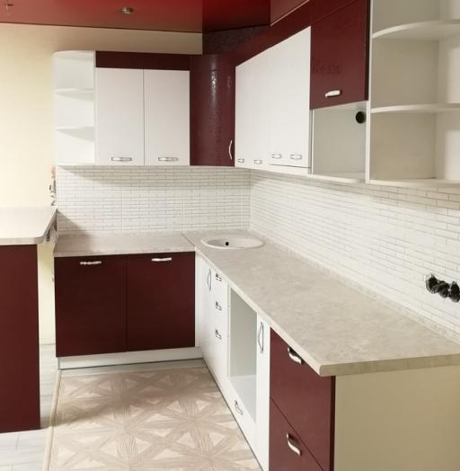-Кухня МДФ в эмали «Модель 18»-фото17