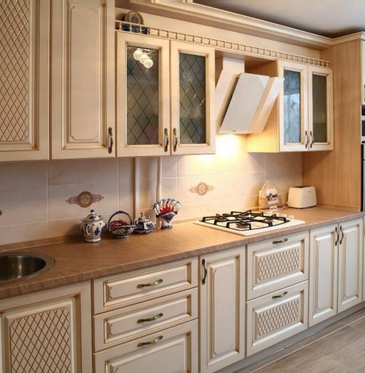 -Кухня из пластика «Модель 135»-фото19