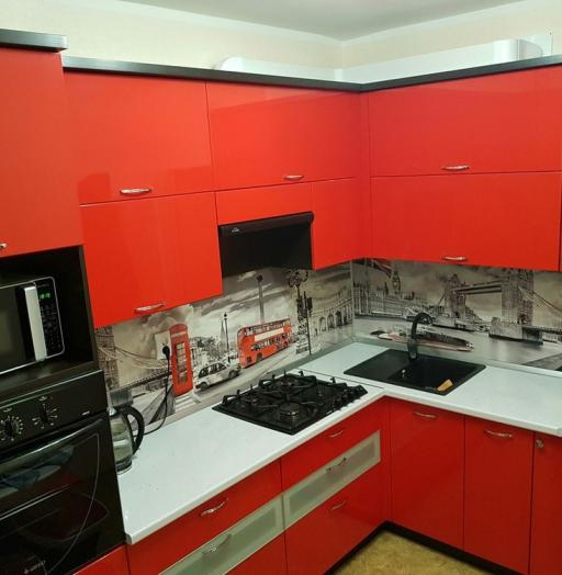 -Кухня из пластика «Модель 138»-фото16