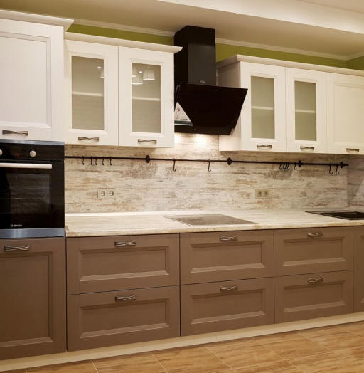 -Кухня из шпона «Модель 25»-фото9